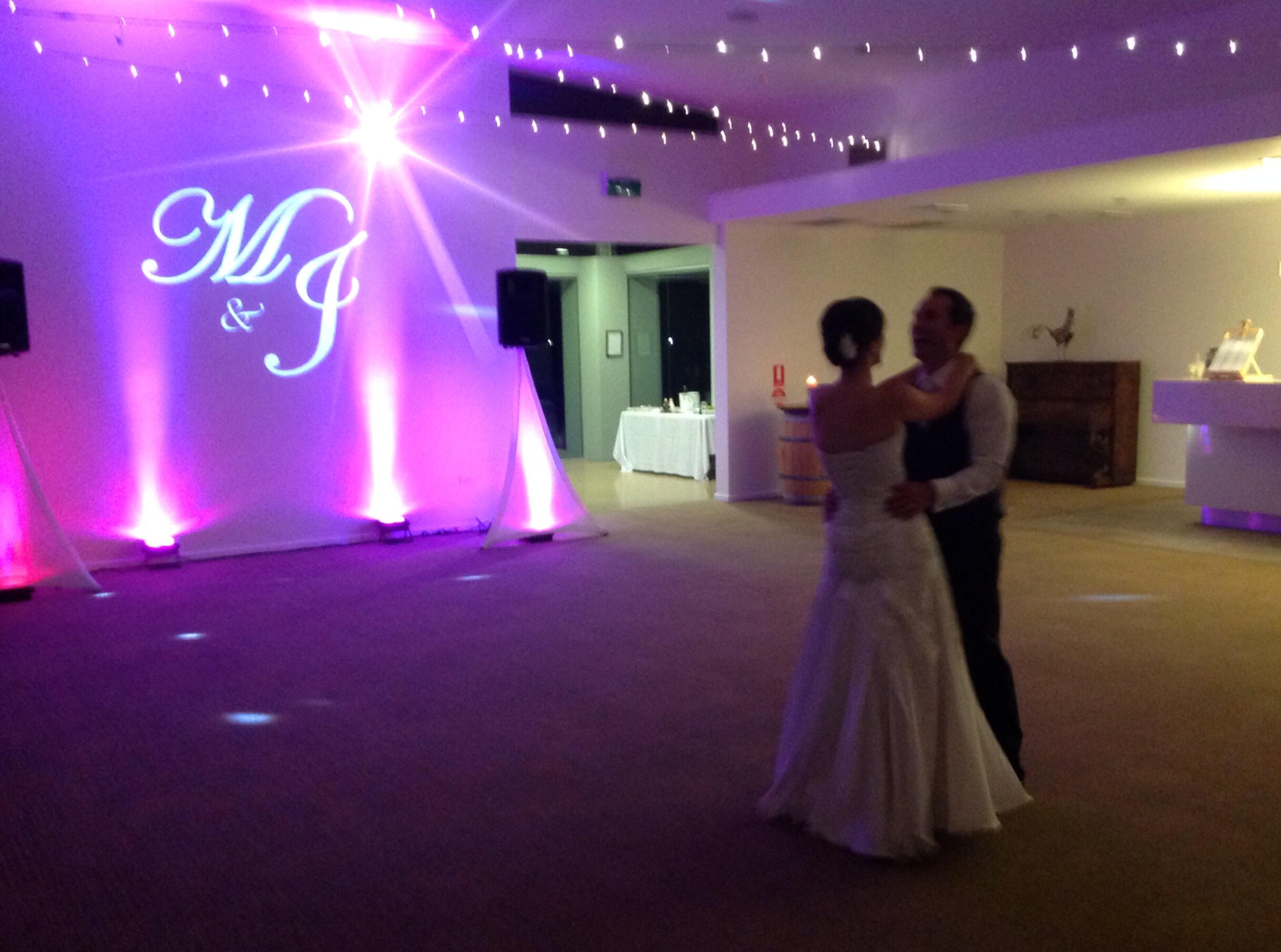 Monogram Lighting Can Enhance Any Wedding or Event & Adelaide Wedding Lighting | Uplighting u0026 monogram lighting azcodes.com